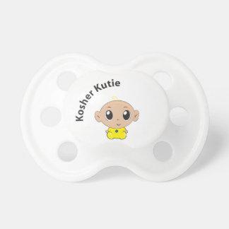 Pacificador kosher de Kutie Chupetes Para Bebes