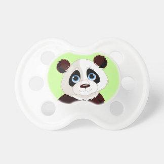 Pacificador lindo del diseño de la panda chupetes