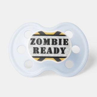 Pacificador listo del zombi chupete de bebe