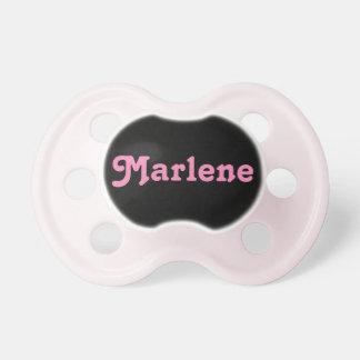 Pacificador Marlene Chupete