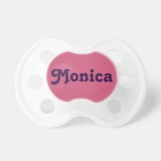 Pacificador Mónica Chupete De Bebe