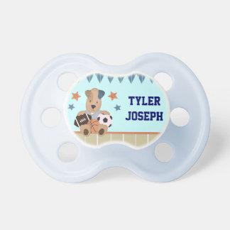 Pacificador personalizado bebé All-star de los per Chupetes Para Bebés