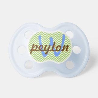 Pacificador personalizado bebé chupetes de bebé