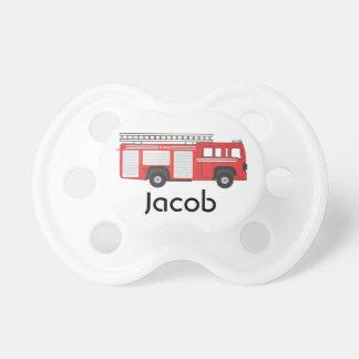 Pacificador personalizado el | del coche de bomber chupetes para bebes