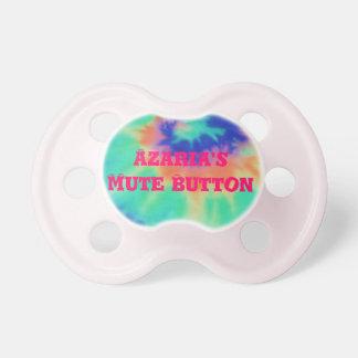 Pacificador personalizado teñido anudado Binky Chupete
