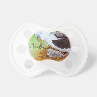 Pacificador suave lindo del personalizable del pol chupete de bebe