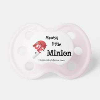 Pacificador - subordinado mental de Milly mental e Chupete