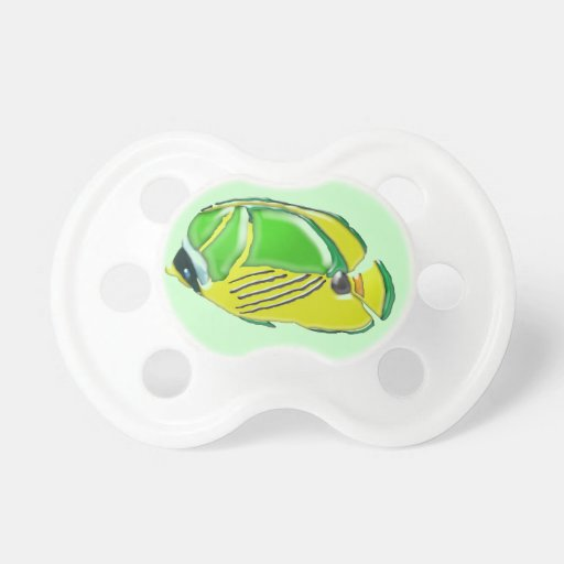 Pacificador tridimensional del bebé de los pescado chupetes de bebe