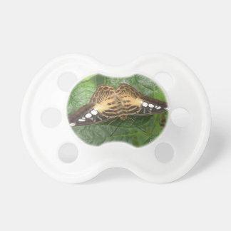 Pacificador tropical bonito de la mariposa de las  chupete de bebe