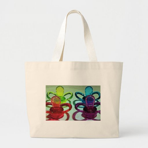 Pacificadores coloreados bolsa de mano