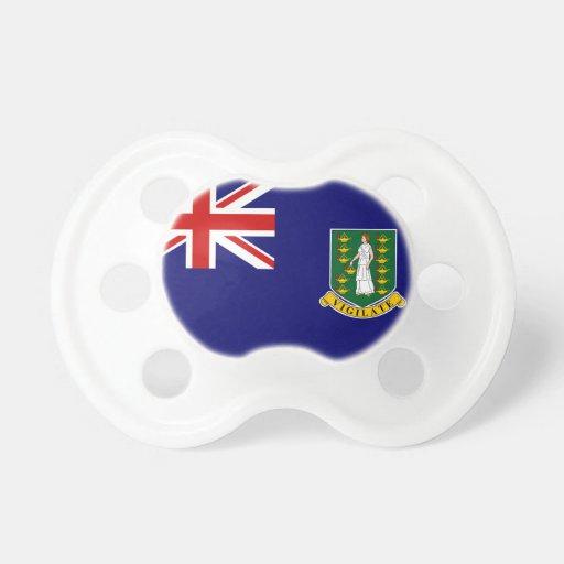 Pacificadores de British Virgin Islands Chupetes Para Bebés
