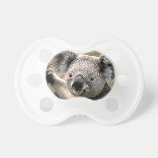 Pacificadores de la koala chupete de bebé