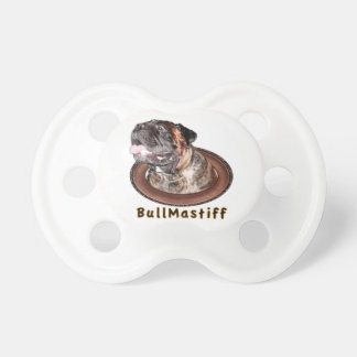 Pacificadores de la materia de Bullmastiff del beb Chupetes