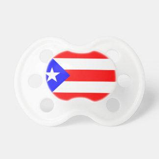 Pacificadores del bebé de Puerto Rico Chupete De Bebe