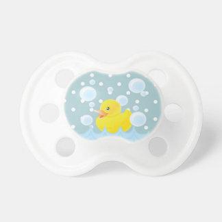 Pacificadores del bebé del tiempo del baño chupetes de bebe