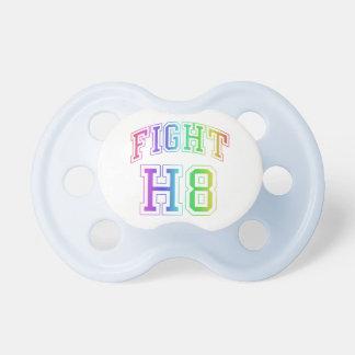 Pacificadores del niño de la lucha H8 Chupetes