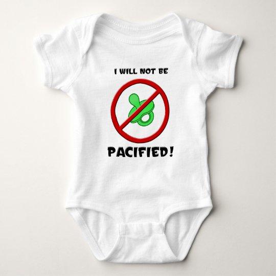 Pacifier Baby Bodysuit