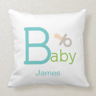Pacifier Baby Pillow