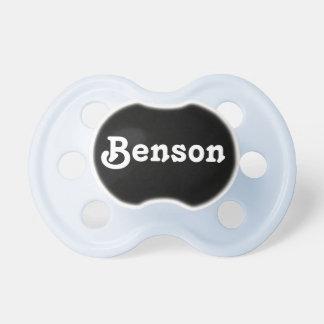 Pacifier Benson
