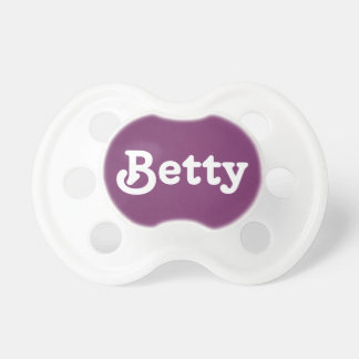 Pacifier Betty