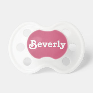 Pacifier Beverly