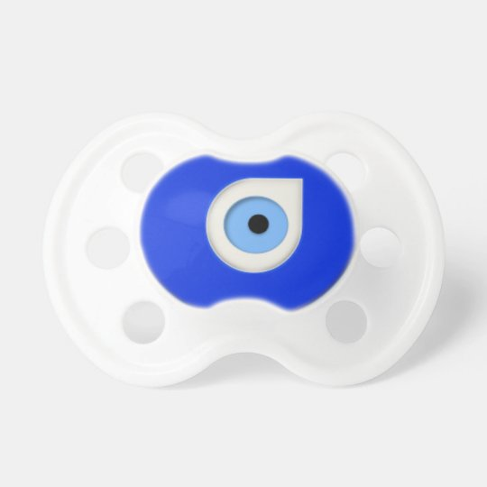 Pacifier - Evil Eye Symbol of Protection