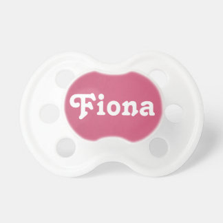 Pacifier Fiona