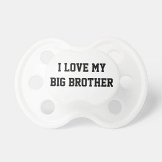 Pacifier for baby with a Big Brother
