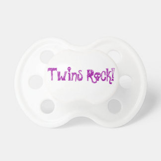 Pacifier for Twins!