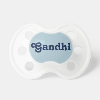 Pacifier Gandhi