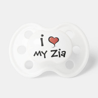 Pacifier I Love My Zia