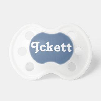 Pacifier Ickett