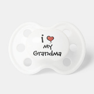 Pacifier Love My Grandma