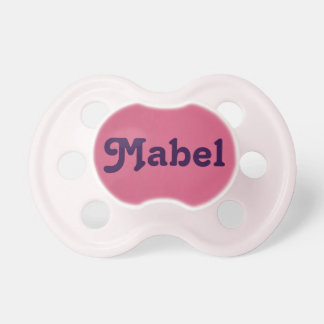 Pacifier Mabel
