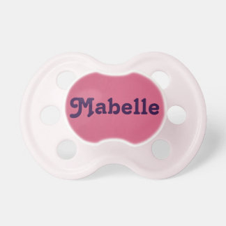 Pacifier Mabelle
