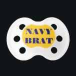 """Pacifier Navy Brat<br><div class=""""desc"""">Pacifier Navy Brat</div>"""