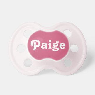 Pacifier Paige