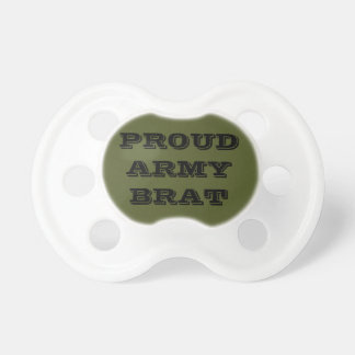 Pacifier Proud Army Brat