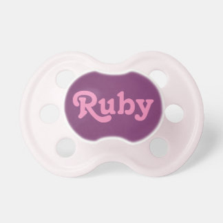 Pacifier Ruby