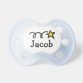 Pacifier / Soother with name Jacob, William, Ethan BooginHead Pacifier
