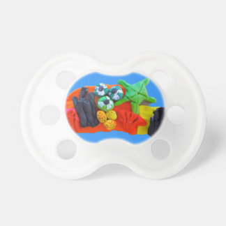 pacifier under the sea urchin naval baby
