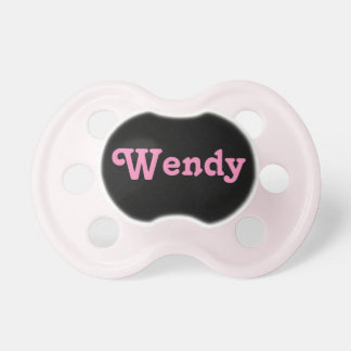 Pacifier Wendy
