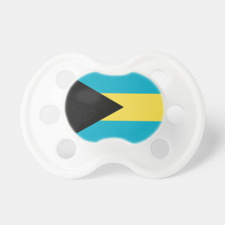 Pacifier with flag of Bahamas