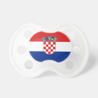 Pacifier with flag of Croatia BooginHead Pacifier