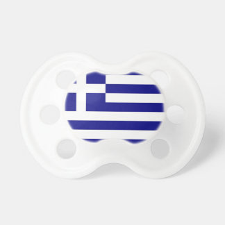 Pacifier with flag of Greece