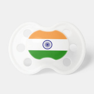 Pacifier with flag of India