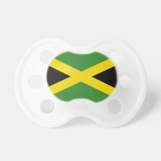 Pacifier with flag of Jamaica