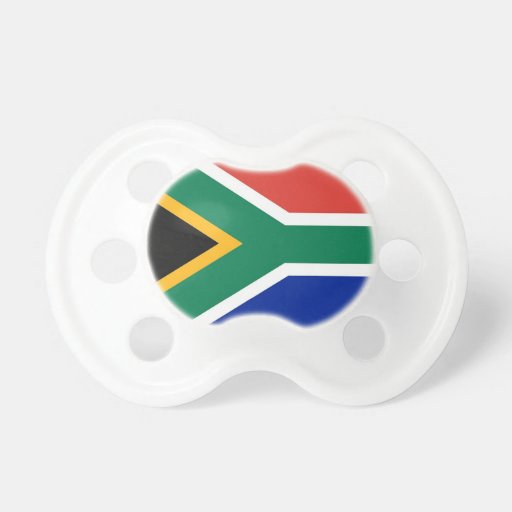 Pacifier with flag of South Africa BooginHead Pacifier