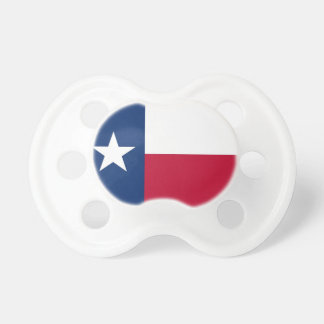 Pacifier with flag of Texas, U.S.A. BooginHead Pacifier