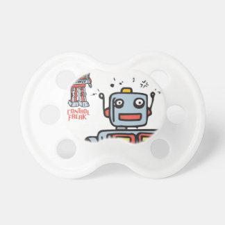 Pacifiers control freak robot